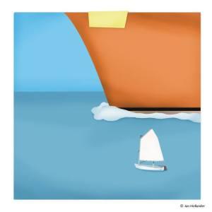 boot-graphic-design-zeilboot-optimist