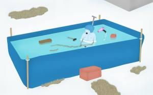 graphic-design-jongetje-in-zwembad-koud